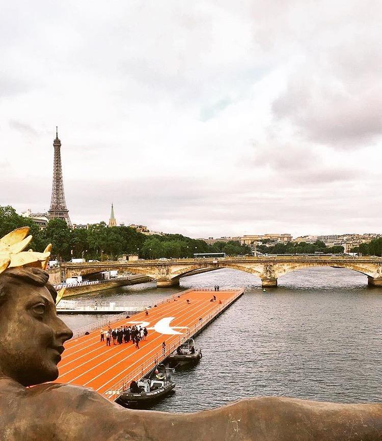 Pont Alexandre III. Fonte: Instagram Pref. Anne Hidalgo