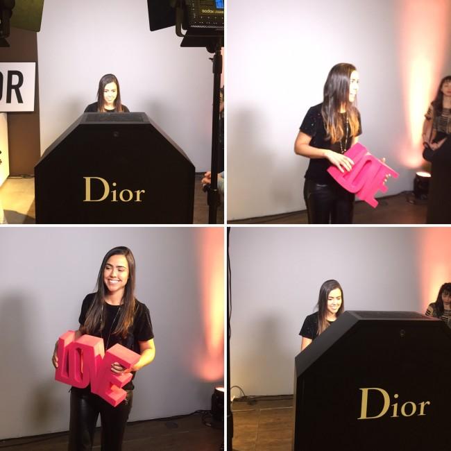 Campanha Dior Love Chain - making off