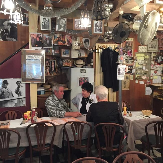 Chez Louisette - Marché aux Puces de Saint Ouen.