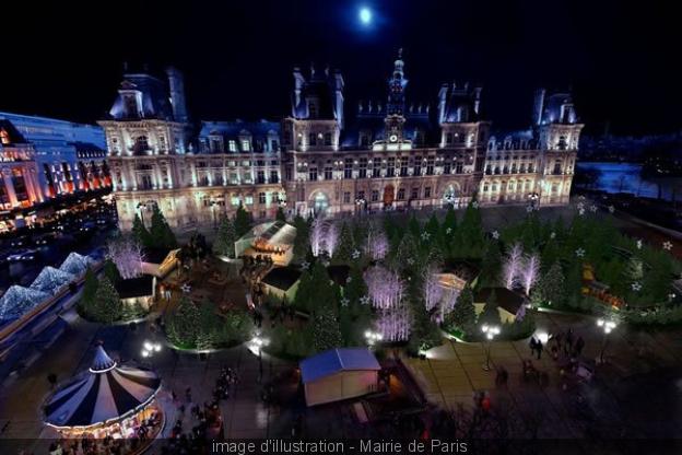 Imagem ilustração produzida pela Prefeitura de Paris