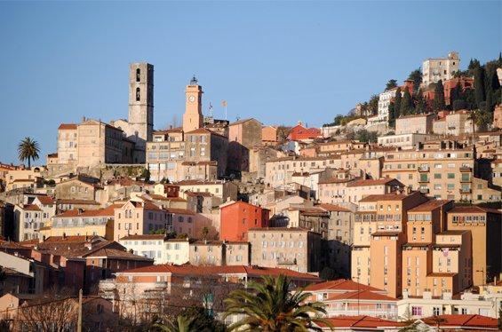 Cidade de Grasse, na Provence.